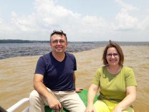 Encuentro de las aguas, Amazonas y río Negro