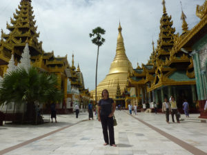 Shwedagon, Birmania